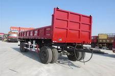 迅力牌LZQ9142ZXQGZF型自卸牵引杆挂车图片