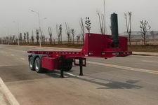 鑫华驰8.2米30吨2轴平板自卸半挂车(THD9350ZZXP)