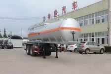 醒狮8.6米28吨2轴腐蚀性物品罐式运输半挂车(SLS9351GFW)
