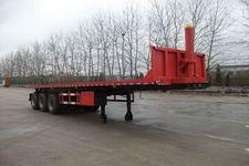 蓬莱10.5米31.5吨3轴平板自卸半挂车(PG9406ZZXP)