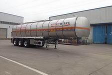 瑞江牌WL9403GSY型铝合金食用油运输半挂车图片