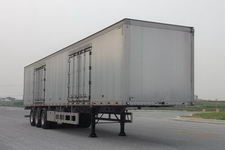 常利达牌GCL9400XXY型铝合金厢式运输半挂车图片