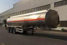昌骅牌HCH9406GSY型铝合金食用油运输半挂车图片