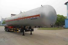 四六牌WHC9300GRQ型易燃气体罐式运输半挂车图片