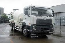 优迪卡(UDTRUCKS)牌DND5250GJBWA37型混凝土搅拌运输车
