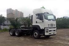 五十铃牌QL4252UKCZ型危险品运输半挂牵引车图片