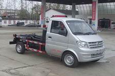 国五 东风汽油版2.5方钩臂垃圾车