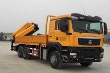 常林牌CHL5258JSQZ4型随车起重运输车