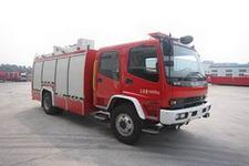 中卓时代牌ZXF5160GXFSG60/A型水罐消防车