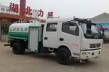国五东风双排5吨消防洒水车