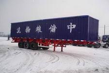 昌骅牌HCH9362XLS型散装粮食运输半挂车图片