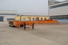 远东汽车15米33.2吨3轴集装箱运输半挂车(YDA9400TJZ)