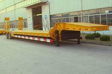 中集16米28吨4轴低平板半挂车(ZJV9402TDPQD)