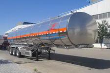 昌骅牌HCH9400GSYMR型铝合金食用油运输半挂车图片