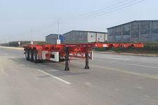 华骏牌ZCZ9400TWYHJE型危险品罐箱骨架运输半挂车图片