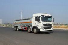 SGZ5310GFWZZ5T5型华威驰乐牌腐蚀性物品罐式运输车图片
