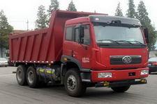 解放牌CA3256P2K2T1NA80型平头液化天然气自卸汽车图片
