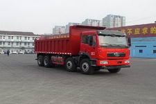 解放牌CA3312P2K2L6T4NA80型平头液化天然气自卸汽车图片