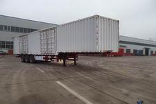 豫前通13.5米31.5吨3轴厢式运输半挂车(HQJ9400XXYE)
