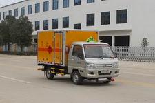 江特牌JDF5030XRQBJ型易燃气体厢式运输车