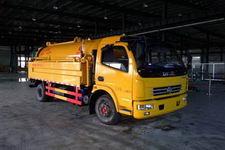 程力威牌CLW5110GQW4型清洗吸污车