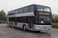 福田牌BJ6128SHEVCA-1型混合动力双层城市客车图片