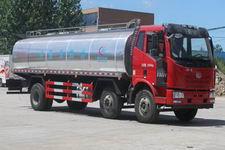 解放J6小三軸鮮奶運輸車