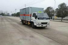 江特牌JDF5040XRQJX型易燃气体厢式运输车