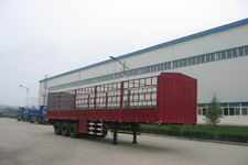 陕汽牌SX9401CLX型仓栅式运输半挂车图片