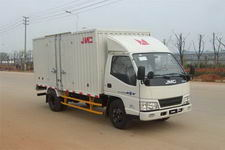 江铃汽车国四单桥厢式运输车109马力5吨以下(JX5044XXYXG2)