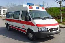 畅达牌NJ5030XJH4-M型医疗救护车图片