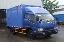 江铃汽车国四单桥厢式运输车109马力5吨以下(JX5048XXYXPG2)