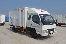 江铃汽车国四单桥厢式运输车109马力5吨以下(JX5044XXYXPGA2)