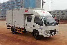 江铃汽车国四单桥厢式运输车109马力5吨以下(JX5044XXYXSG2)