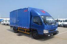 江铃汽车国四单桥厢式运输车109马力5吨以下(JX5048XXYXGA2)