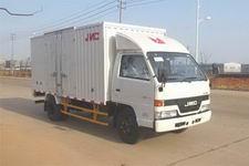 江铃汽车国四单桥厢式运输车109马力5吨以下(JX5045XXYXG2)