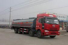 程力威牌CLW5312GRYC4型易燃液体罐式运输车