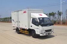 江铃汽车国四单桥厢式运输车109马力5吨以下(JX5044XXYXC2)