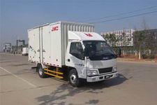 江铃汽车国四单桥厢式运输车109马力5吨以下(JX5044XXYXCD2)