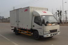 江铃汽车国四单桥厢式运输车109马力5吨以下(JX5044XXYXGN2)