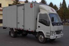 金杯国四单桥厢式运输车69马力5吨以下(SY5034XXYDF1-K2)