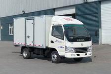 凯马国四单桥厢式运输车88马力5吨以下(KMC5036XXYQ26D4)