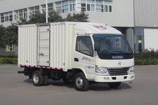 凯马国四单桥厢式运输车79-88马力5吨以下(KMC5036XXYA26D4)