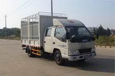 江铃汽车国四单桥仓栅式运输车109马力5吨以下(JX5044CCYXSG2)