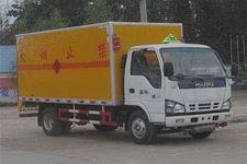 程力威牌CLW5060XQYQ4型爆破器材运输车