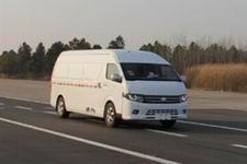 东吴牌JSK5040XXYEV型纯电动厢式运输车