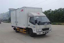 江铃汽车国四单桥厢式运输车109马力5吨以下(JX5044XXYXGW2)