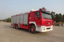 上格牌SGX5191TXFGQ54/ZZ型供气消防车图片