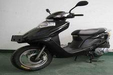 浩爵牌HJ125T-4型两轮摩托车图片