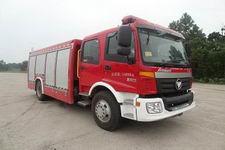 隆华牌BBS5150GXFSG50/M型水罐消防车